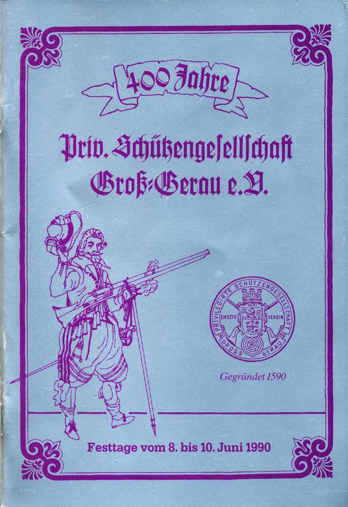 1990 – 400-jähriges Vereinsjubiläum der PSG Groß-Gerau