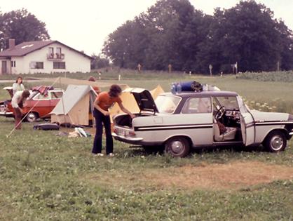 Auf der Reise nach Jugoslawien