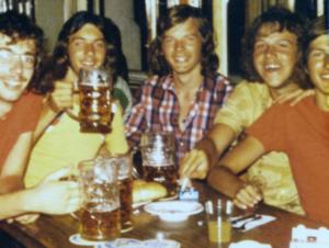 Vier Bier und ein Fanta zum Abschluss in München