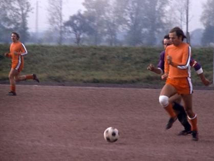 Angriff des FC Licher beim Turnier in Worfelden im Jahr 1977