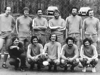Das Team des FC Licher im Jahr 1978
