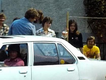 1975 Filmausschnitt der ersten Orientierungsfahrt